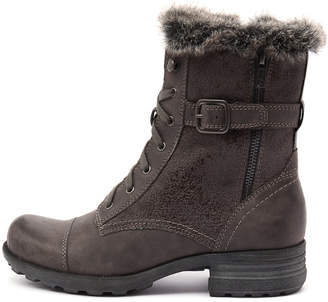 Planet Pinto-pl Grey Boots Womens Shoes Casual Ankle Boots