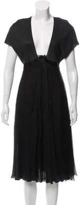 Stella McCartney Belted Midi Dress