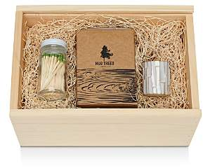Food52 Vermont Wood Candle and Match Stiker Gift Box