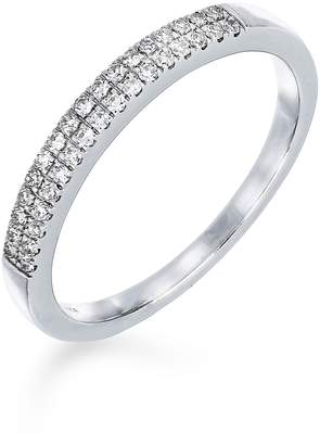Carriere JEWELRY Double Row Diamond Stack Ring