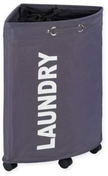 Tresco Laundry Bin in Grey