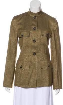 Celine Wool-Blend Jacket w/ Tags Gold Wool-Blend Jacket w/ Tags