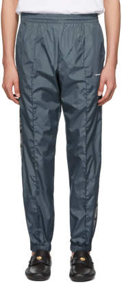 Off-White Off White Blue Light Nylon Jogging Lounge Pants
