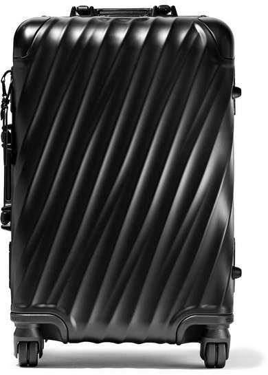 Tumi International Carry-on Aluminum Suitcase - Black