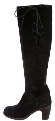 Fiorentini+Baker Suede Knee-High Boots