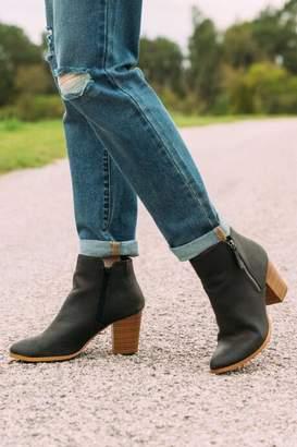 Fergalicious Ciello Distressed Ankle Boot - Black