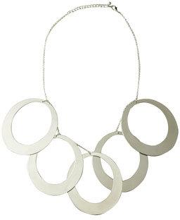 Oval Dangle Necklace