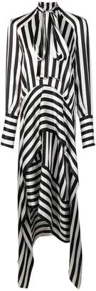 Petar Petrov striped midi dress