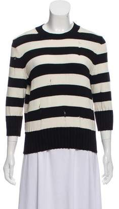Veronica Beard Striped Knit Sweater