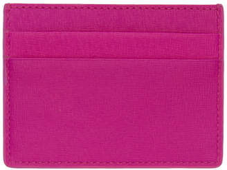 Balenciaga Pink Leather Card Holder