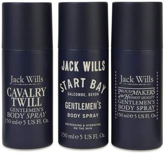 Men's Body Spray Trio