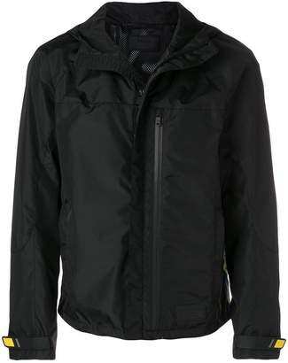 Prada logo trim windbreaker jacket