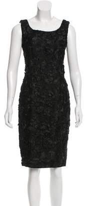 Balmain Bateau Neck Knee-Length Dress