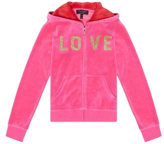 Juicy Couture Velour Love Juicy Robertson Jacket for Girls