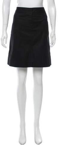Marc JacobsMarc Jacobs A-Line Knee-Length Skirt