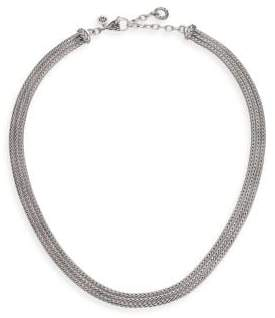 John Hardy Classic Chain Sterling Silver Multi-Strand Necklace