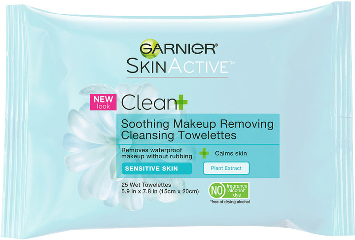 Garnier SkinActive Clean+ Soothing Makeup Removing Towelette
