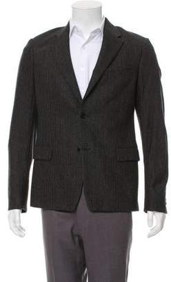 Kenzo Wool Herringbone Blazer