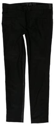 Haider Ackermann Mid-Rise Cropped Pants