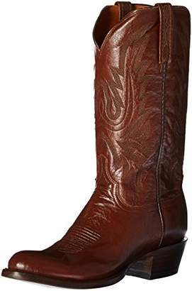 Lucchese Bootmaker Men's Carson-ant Bn Lonestar Calf Cowboy Riding Boot