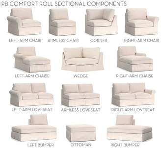 Pottery Barn Build Your Own, Box Edge - PB Comfort Roll Arm Slipcovered Sectional Components