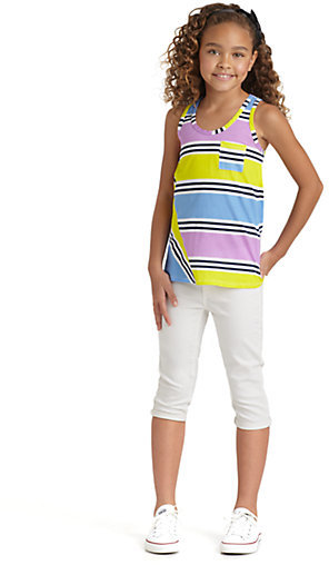 Splendid Girl's Cabana Stripe Tank Top