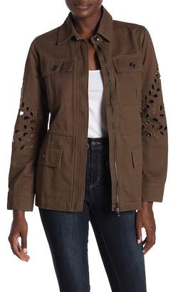 Honeybelle Honey Belle Collared Jackets With Distressed Details