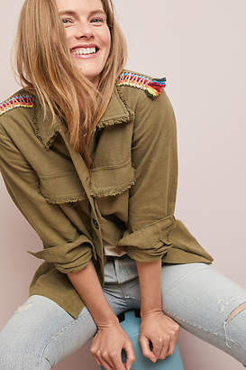 Moon River Embroidered Utility Jacket