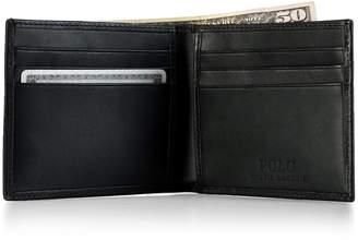 Polo Ralph Lauren Men's Accessories, Burnished Leather Billfold Wallet