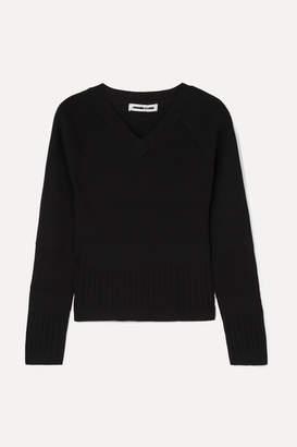 McQ Ribbed-knit Sweater - Black
