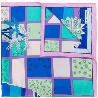 Emilio Pucci printed scarf