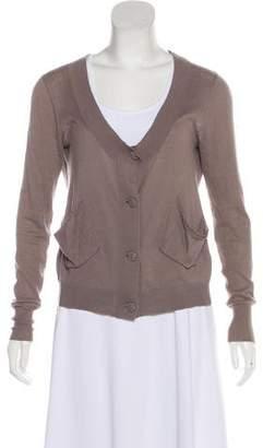 IRO Long Sleeve Knit Cardigan