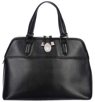 Mark Cross Leather Handle Bag