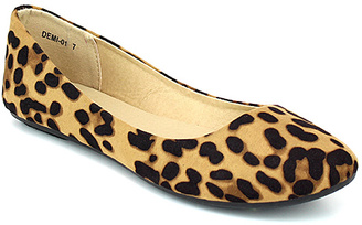 Brown Leopard Demi Flat $19.99 thestylecure.com