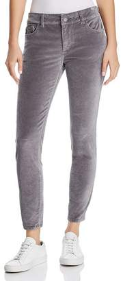 Silver Spring DL1961 Florence Instasculpt Ankle Skinny Velvet Jeans in