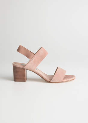 And other stories Block Heeled Sandals