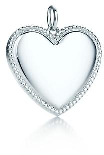 Tiffany Yours heart charm