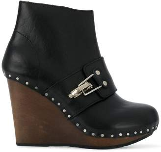 See by Chloe (シー バイ クロエ) - See By Chloé studded wedge boots