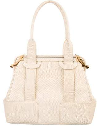 Judith Leiber Karung Frame Top Handle Bag