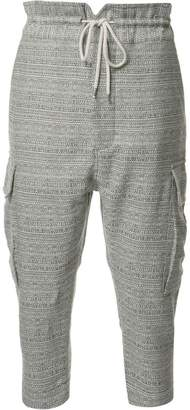 Vivienne Westwood cropped cargo trousers