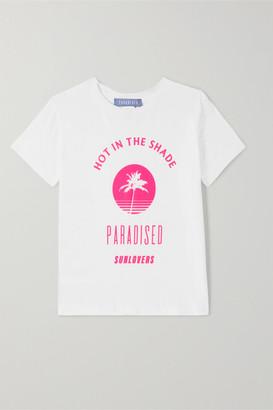 Paradised Kids - Neon Printed Cotton-jersey T-shirt - White