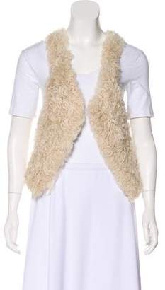 Isabel Marant Lamb Fur Vest
