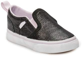 8213c6b27c6 Vans Asher V Toddler Girls  Glitter Skate Shoes
