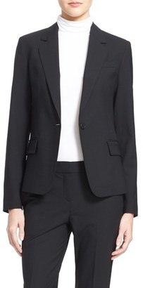 Women's Theory 'Gabe' Stretch Wool Blazer $425 thestylecure.com