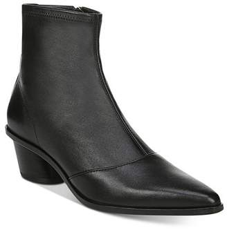Via Spiga Women's Odette Pointed-Toe Leather Booties
