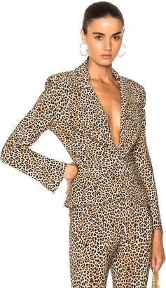 Norma Kamali Short Single Breasted Jacket $260 thestylecure.com