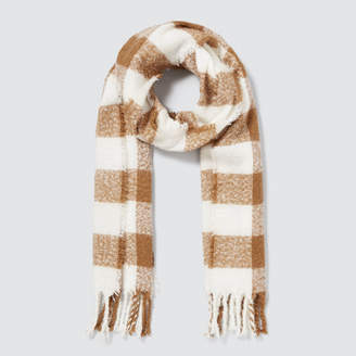 Seed Heritage Bold Check Scarf