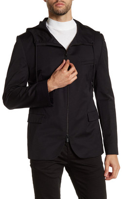 HUGO BOSS Adven Hooded Jacket $545 thestylecure.com