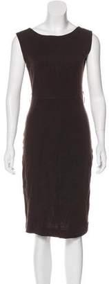 Rozae Nichols Wool Sheath Dress