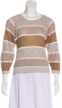 Diane von Furstenberg Printed Knit Sweater